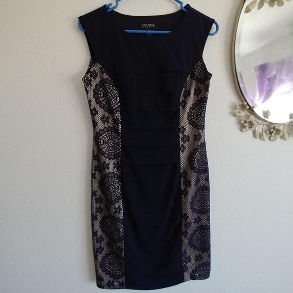 Enfocus Studio Dresses & Skirts - ❄️Enfocus Studio navy body con dress 8❄️